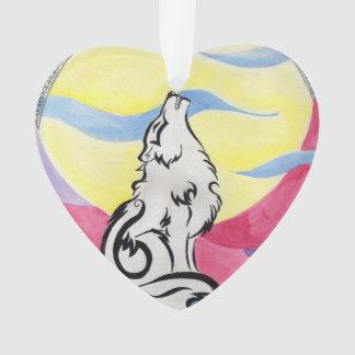 Enfeites de natal do lobo