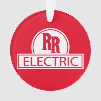 Enfeites de natal elétricos do trilho rápido
