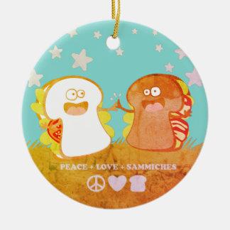 enfeites de natal engraçados da comida do