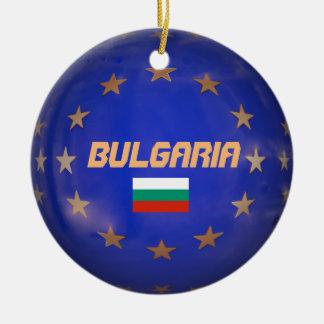 Enfeites de natal europeus do círculo de Bulgária