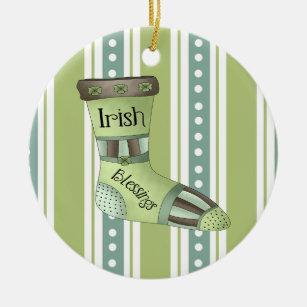 Enfeites de natal irlandeses das bênçãos
