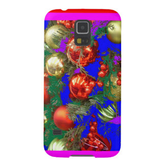 Enfeites de natal no design do feriado por Sharles Capas Par Galaxy S5
