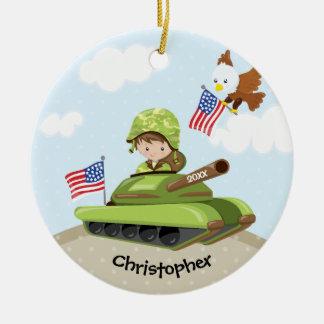 Enfeites de natal originais do menino do soldado