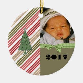 Enfeites de natal personalizados da foto