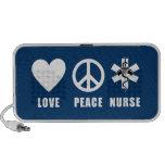Enfermeira da paz do amor caixinhas de som