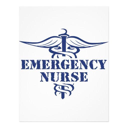 enfermeira do emer panfleto personalizado