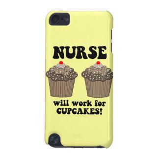 enfermeira engraçada capa para iPod touch 5G