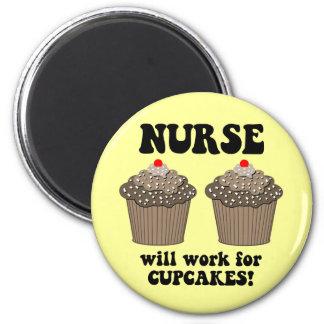 Enfermeira engraçada imã