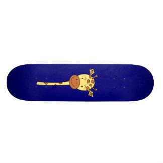 Enfrentar do girafa envia. Desenhos animados Shape De Skate 18,1cm