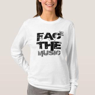 Enfrente a música (o T das senhoras) Camiseta