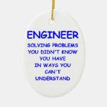 engenharia do engenheiro ornamento para arvores de natal