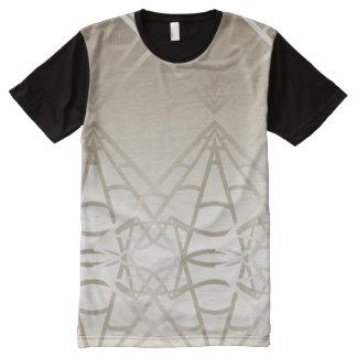 Engenharia geométrica da HASTE da geometria Camisetas Com Impressão Frontal Completa