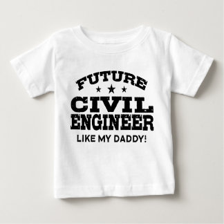 Engenheiro civil futuro camisetas