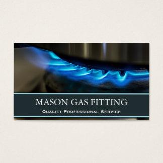 Engenheiro do gás/cartão de visita mais apto da cartão de visitas