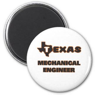 Engenheiro mecânico de Texas Ímã Redondo 5.08cm