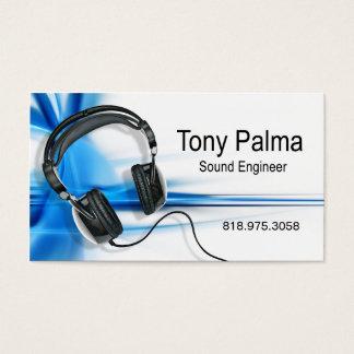 Engenheiro sadio liso - cartão de indústria