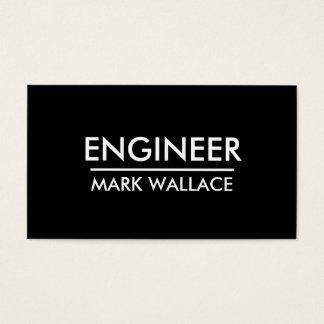 Engenheiro simples cartão de visitas