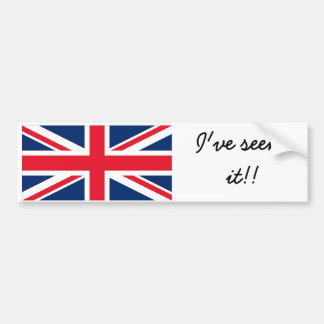 England bumber sticker adesivo para carro