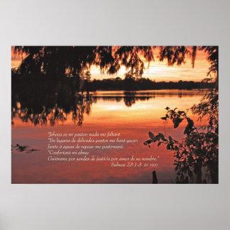 Engodo 1-3 Puesta del Solenóide de Salmos 23 Poster