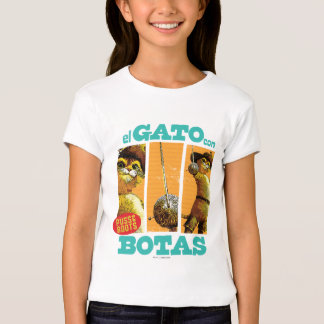 Engodo Botas do EL Gato Camiseta