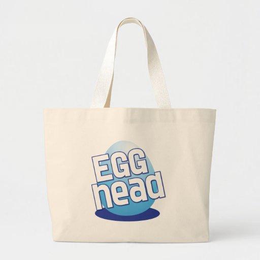 engraçado calvo da páscoa principal do ovo bolsa para compras
