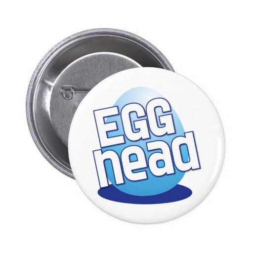 engraçado calvo da páscoa principal do ovo botons