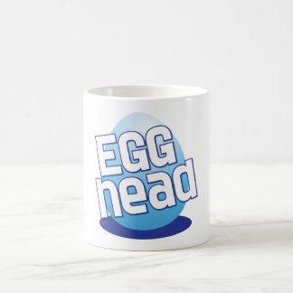 engraçado calvo da páscoa principal do ovo caneca
