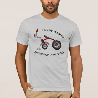 Engraçado, camisa das instruções de Stinkin