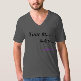 Engraçado equipa o tshirt para amantes de música camiseta