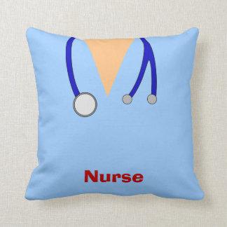 Engraçado esfrega o design lunático das enfermeira travesseiro de decoração