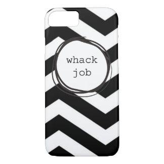 Engraçado louco do trabalho do Whack Capa iPhone 7