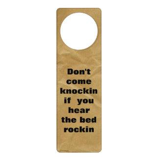 Engraçado não perturbe o gancho de porta sinais para portas