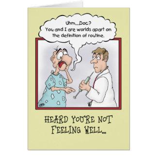 Engraçado obtenha cartões bons: Tiro rotineiro