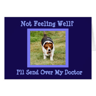 """Engraçado """"obtenha"""" o doutor bom do cartão w/Cute"""