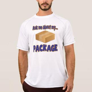 engraçado pergunte-me sobre minha sugestão do paco tshirts