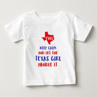 Engraçado você camisetas da menina de Texas