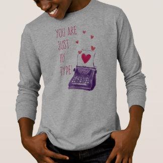 Engraçado você é apenas meu tipo camisa da luva