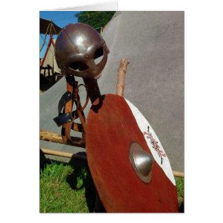 Engrenagem da batalha de Viking, cartão