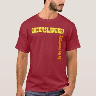Engrenagem dos suportes de Queensland - estado de Camiseta