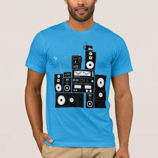 """Engrenagem estereofónica """"auto"""" RealFancy reverso Camiseta"""