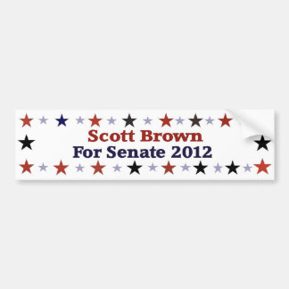 Engrenagem política republicana de Scott Brown Adesivos
