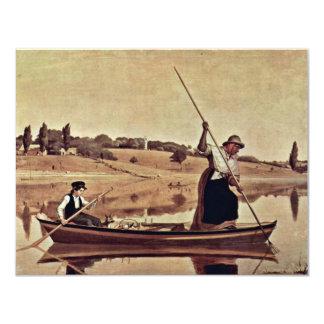 Enguias em Setauket pela montagem William Sidney Convite