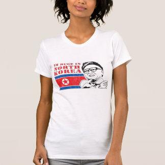 enorme somente na Coreia do Norte - Kim Jong-il Camisetas