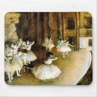 Ensaio de um balé no palco - desgaseifique mouse pad