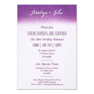 Ensaio do casamento da ameixa 3.5x5 e convite do