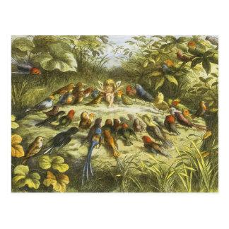Ensaio no cartão do Fairyland por Richard Doyle