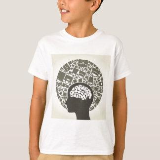 Ensaque um head2 camiseta