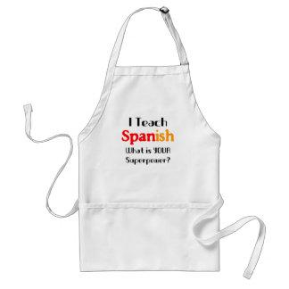 Ensine o espanhol avental