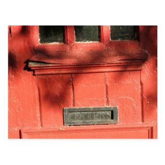 Entalhe de correio cartão postal