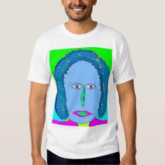 Entalhe de néon t-shirts